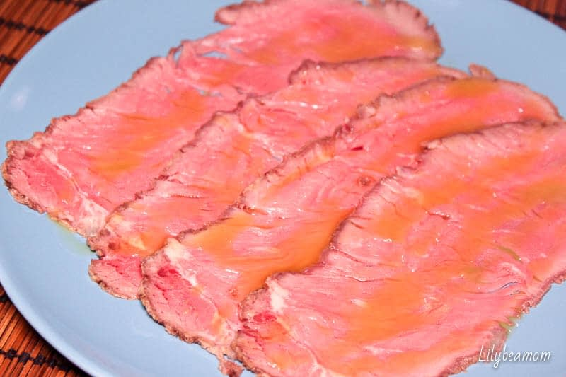 Roast beef | paninisopraffini.com