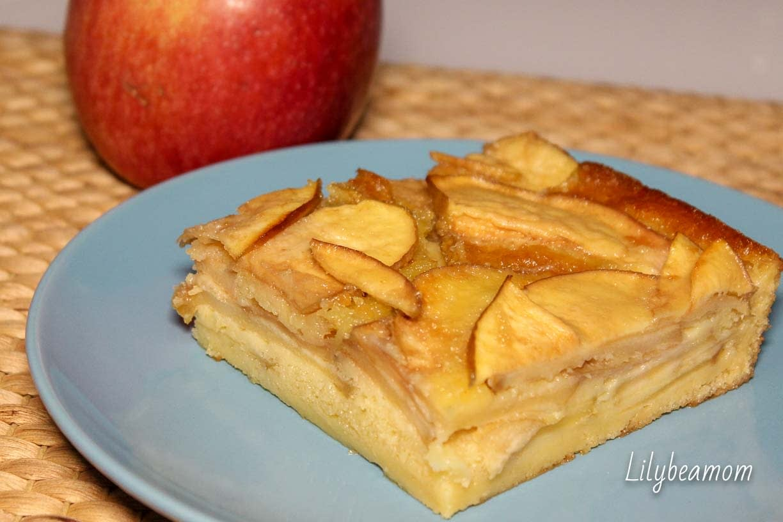 Torta di mele ebraica   paninisopraffini.com