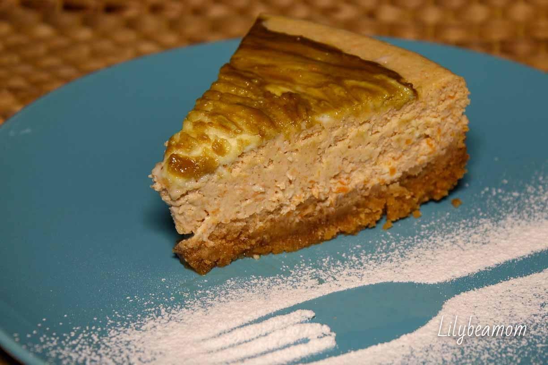 Cheesecake alla zucca | paninisopraffini.com