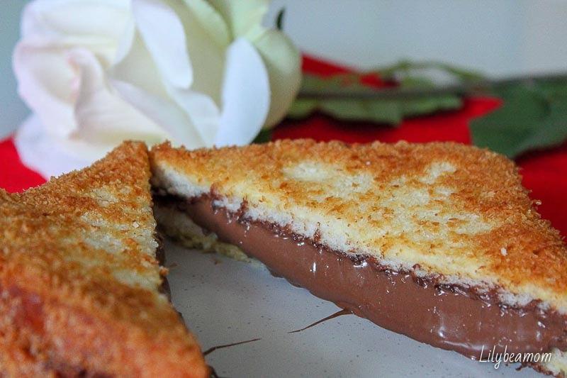 French toast cocco e nutella | paninisopraffini.com