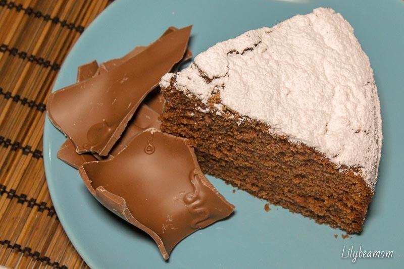 Torta con cioccolato al latte | paninisopraffini