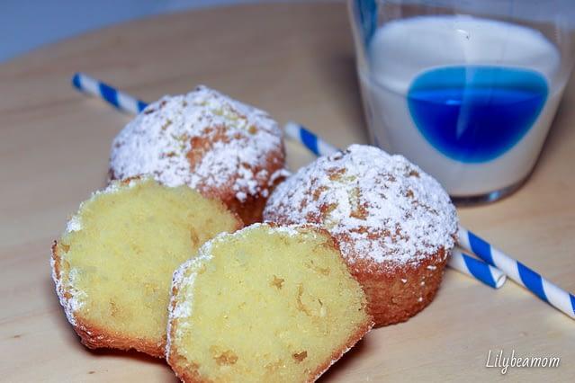 Muffin al cioccolato bianco | paninisopraffini.com