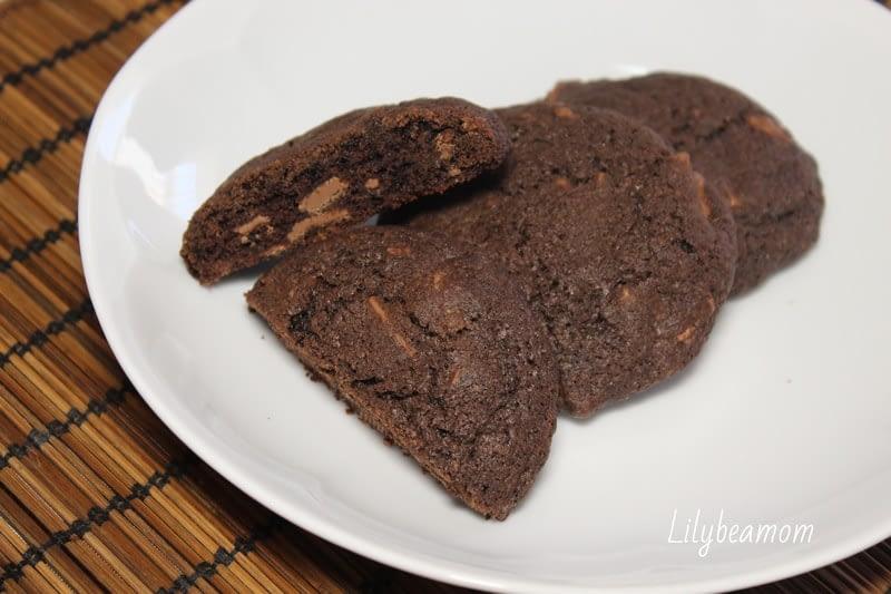 Dark cookies | paninisopraffini.com