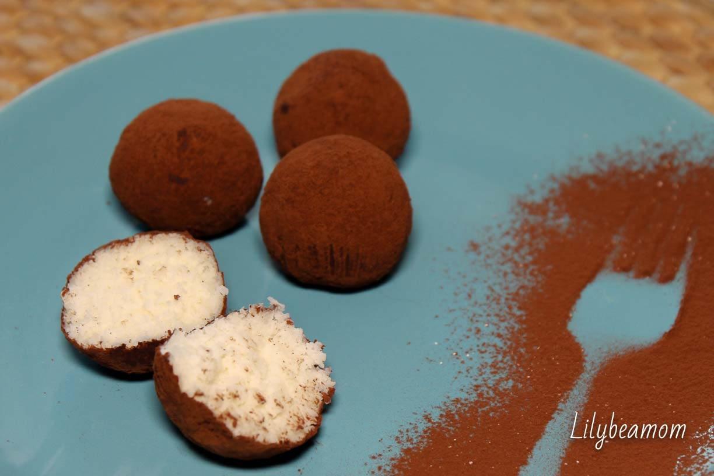 Tartufi al cocco e cacao | paninisopraffini.com
