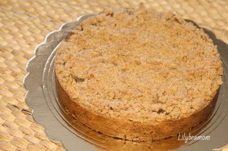 Crostata di mele con crumble alla cannella | paninisopraffini.com