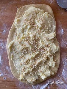 Preparazione del babka alla crema | step 2 |paninisopraffini.com